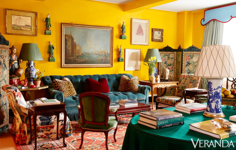 These 8 Yellow Rooms Have The Best Taste Home And Office