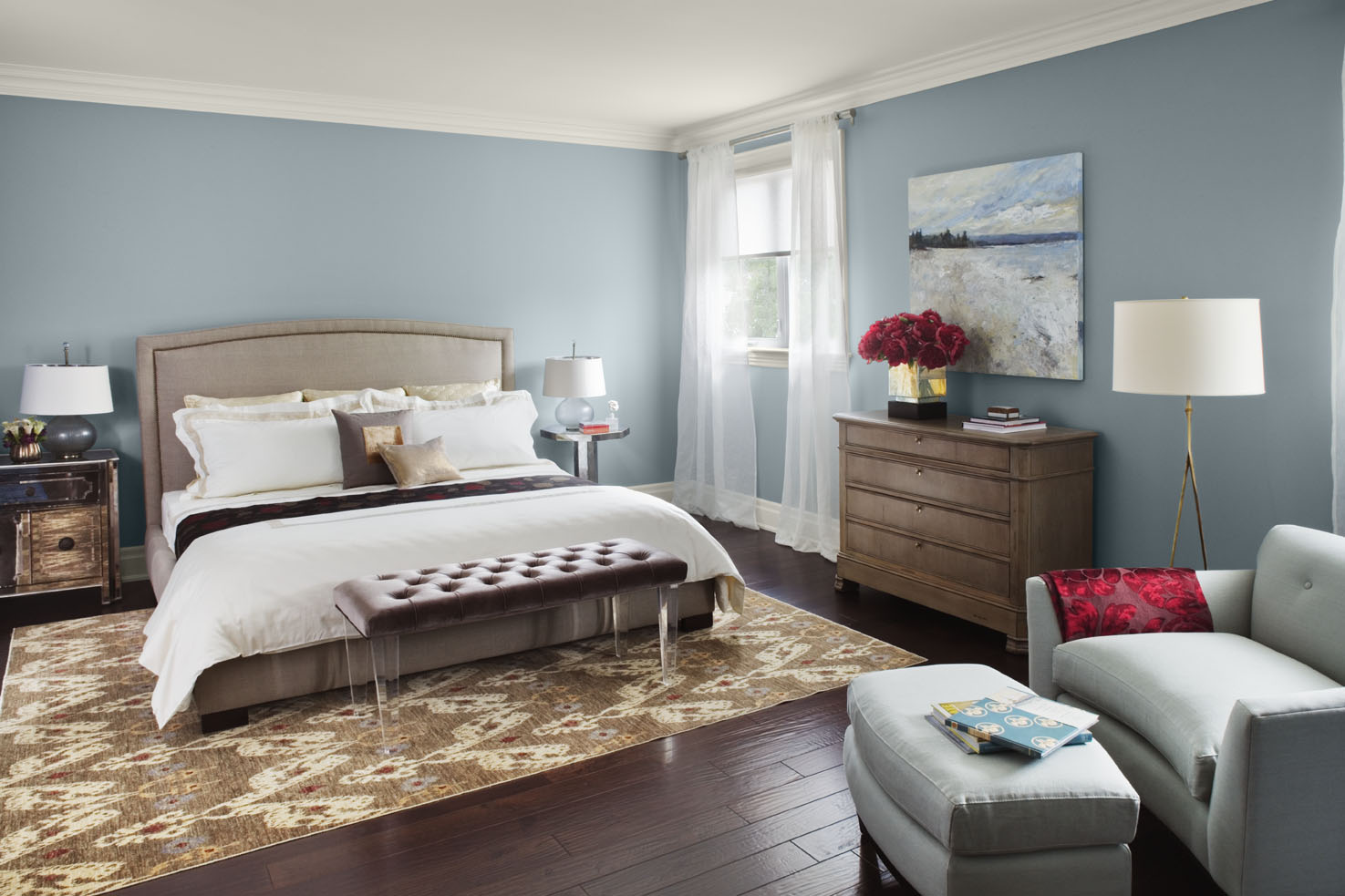 These 10 Bedrooms Show Why Blue Is The Most Popular Color