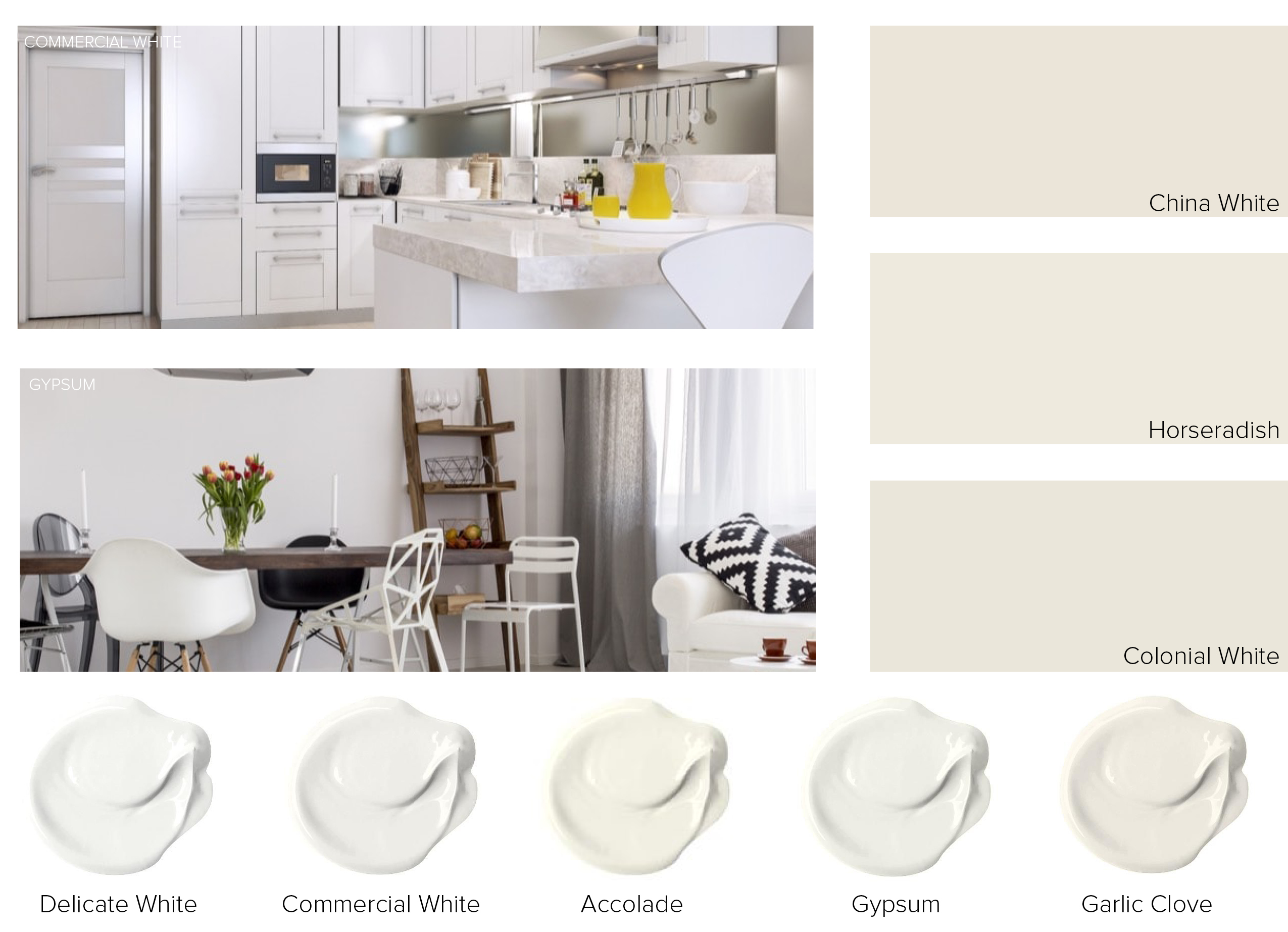 Your Guide to the Perfect Shade of White Home and Office Painting
