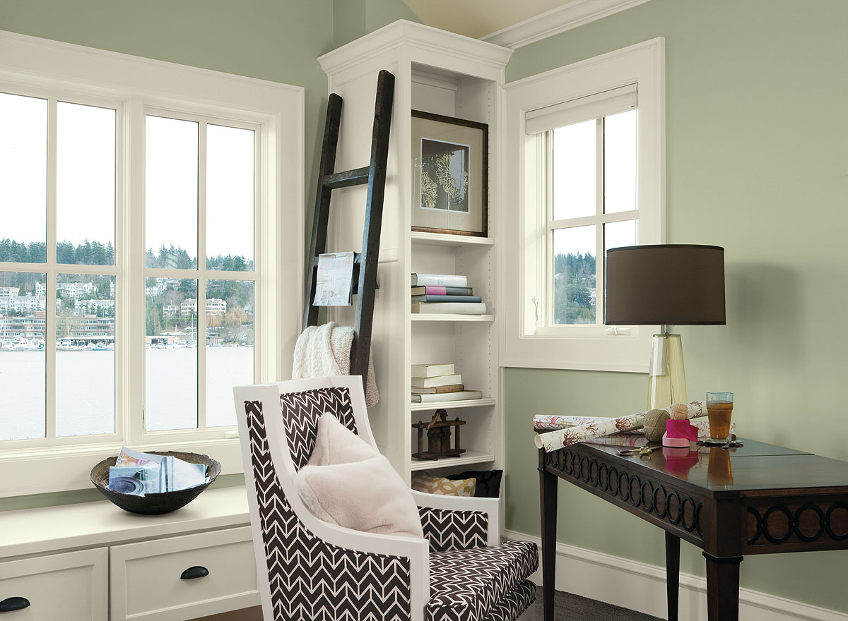 Green paint colors - 10 Awesome Paint Colors To Be Thankful For This Season