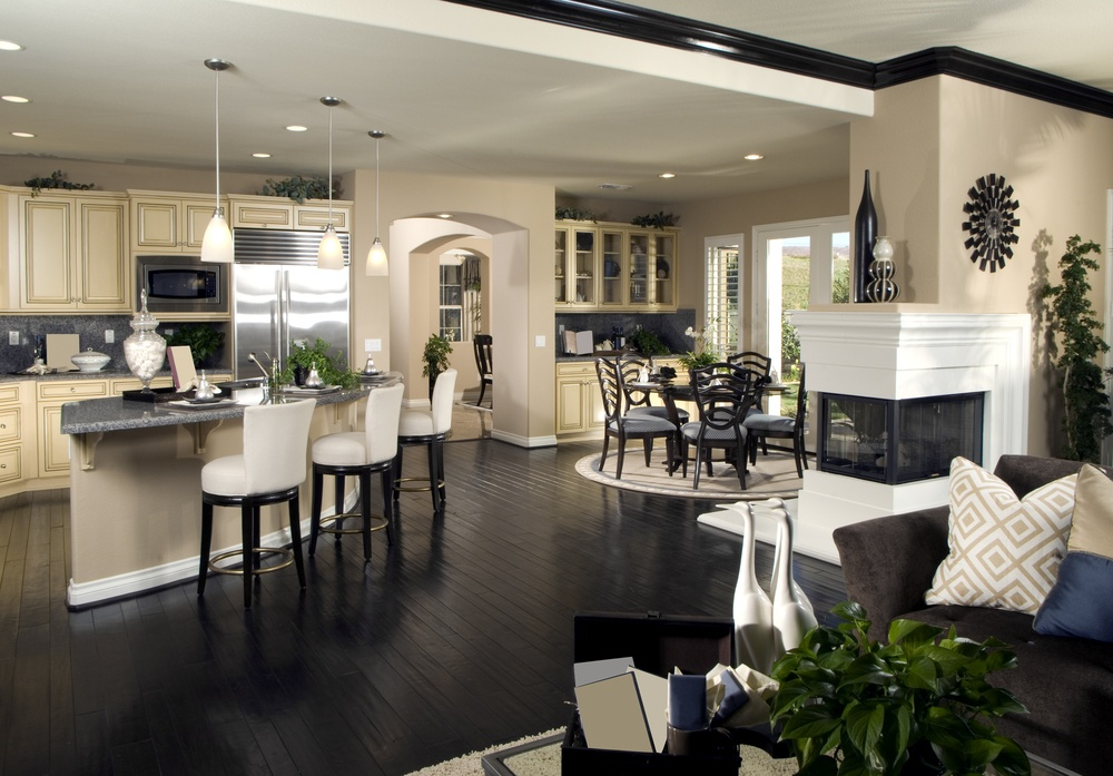 How To Design A Beautiful Open Concept Living Room   Home And Offic.