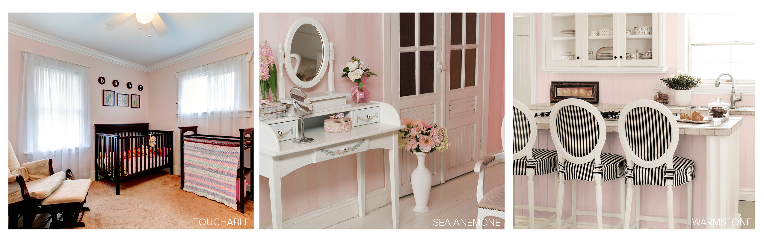 The Most Popular Pink Paint Colors